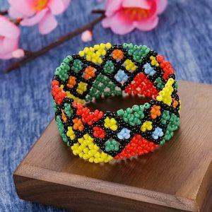 Jewelry - Boho Stretch Bead Bracelet